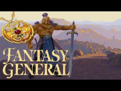 Let's Play │ Fantasy General │ 41 │ The Crimson Sands