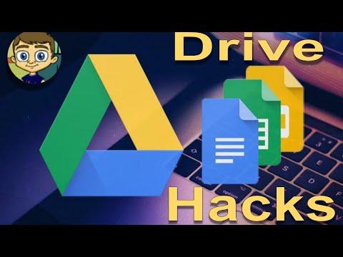 Google Drive Hacks - 2018 Tutorial - YouTube