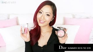 TUTORIAL | Dior Summer 2015 Tie Dye Makeup REVIEW + Air Nude Demo