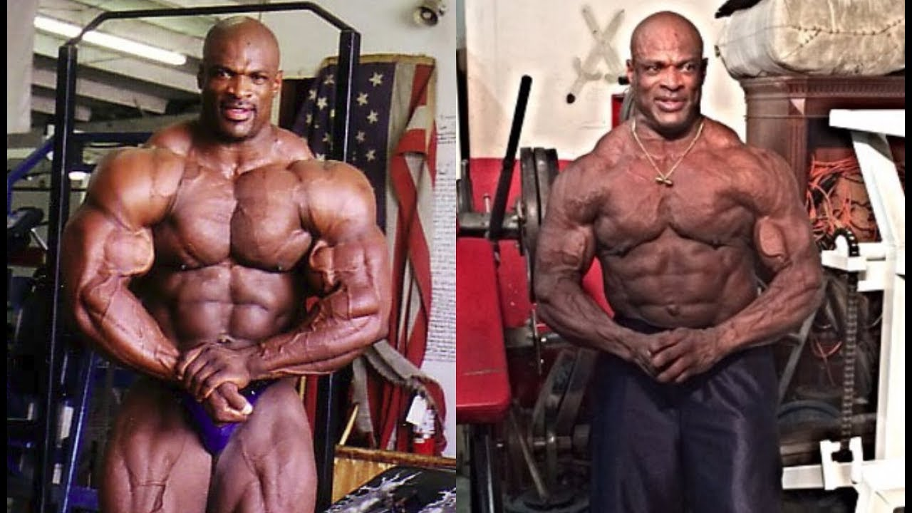 ronnie coleman then and now youtube