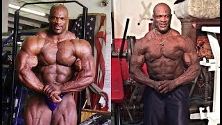 Ronnie Coleman Then and Now