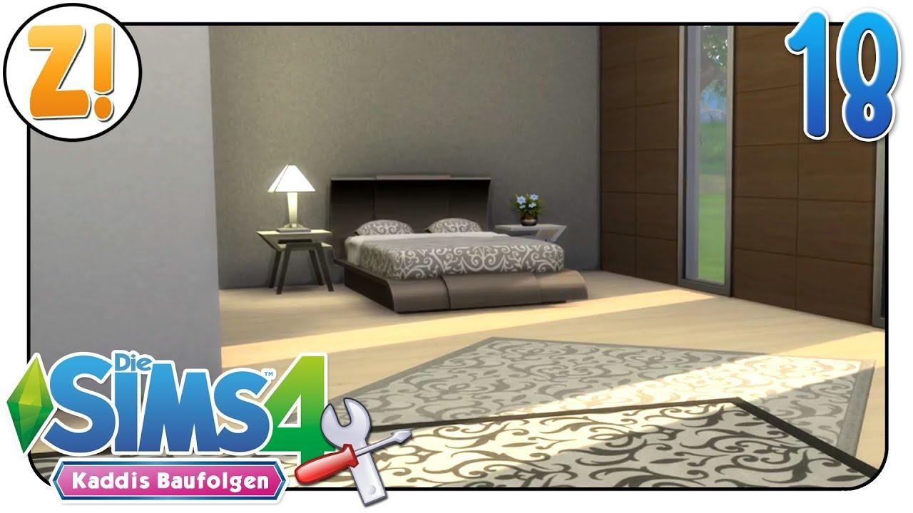 Sims 4 - Kaddi\'s Baufolgen: Schlafzimmer ohne Packs & CC #18 | Let\'s ...