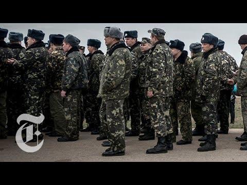 Ukraine 2014   Confrontation in Crimea   The New York Times