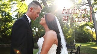 Andrea & Luke Wedding - Springfield Illinois