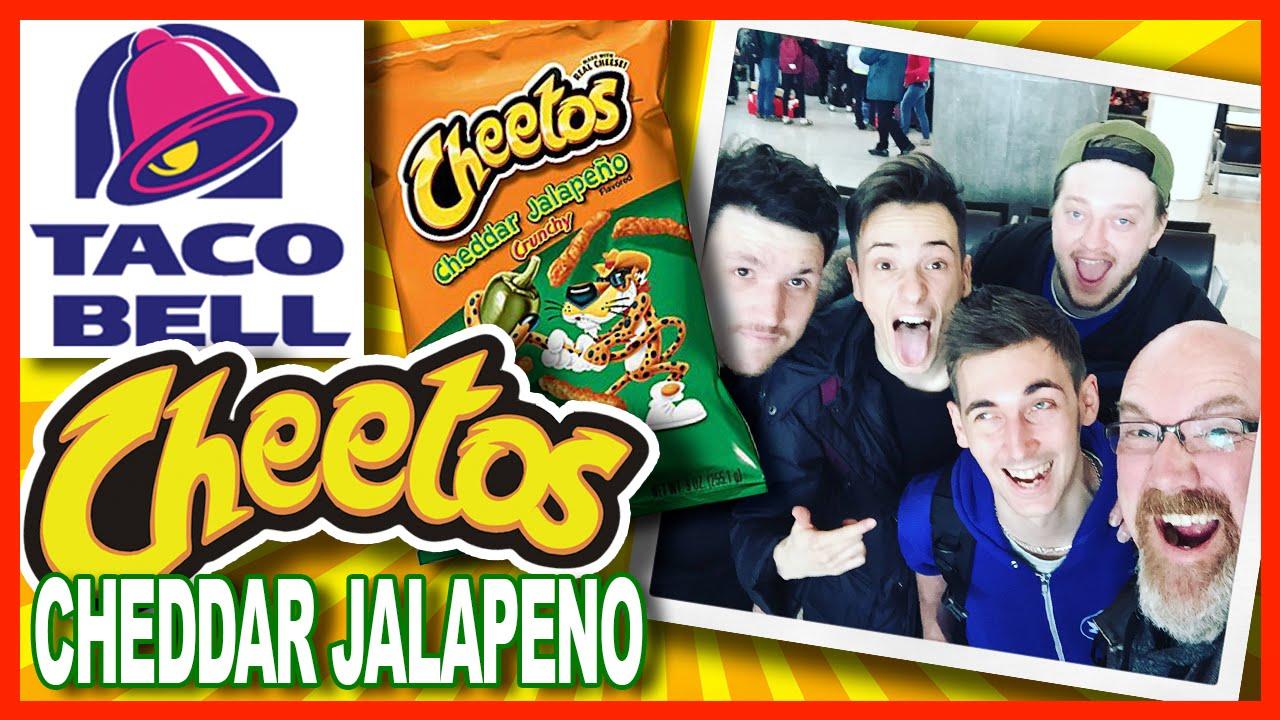 Taco Bell ♥ CHEETOS Cheddar Jalapeno ♥ Crunchwrap Sliders w/WheresMyChallenge