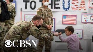 Afghan evacuees begin resettlement in the U.S.