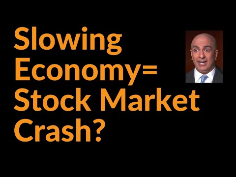 Will The Slowing Economy Crash Stocks?