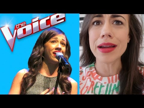 I AUDITIONED FOR THE VOICE!