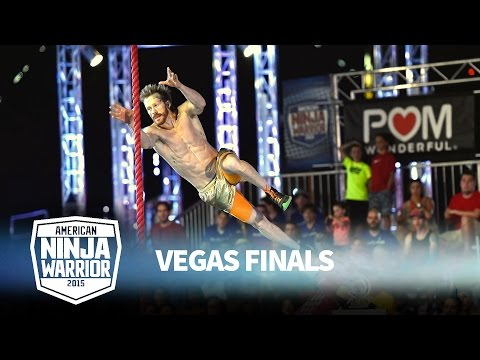 Neil Craver at the Vegas Finals: Stage 1   American Ninja Warrior