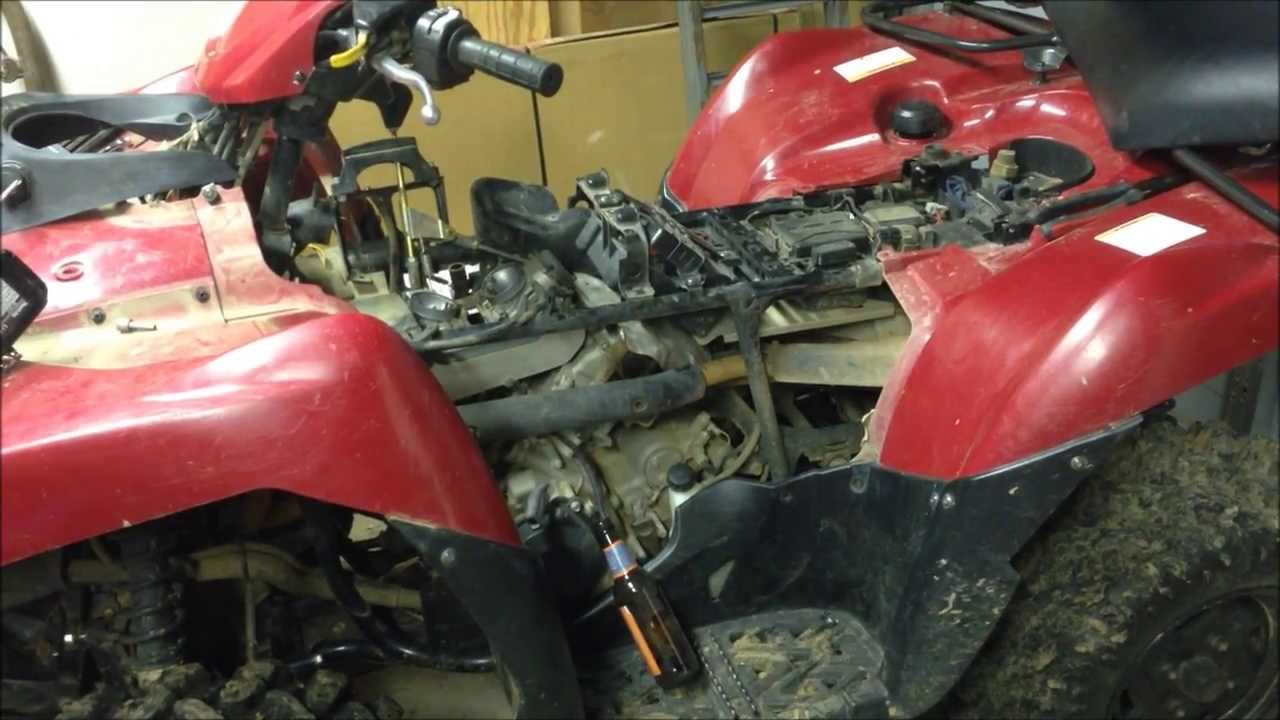 2005 Kawasaki Prairie Wiring Diagram 2005 Kawasaki Brute Force 750 Carb Removal Youtube