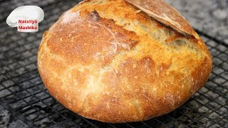 ШОК ВЫ НЕ ПОВЕРИТЕ Хлеб БЕЗ ЗАМЕСА на ГОРЯЧЕЙ воде Очень необычный и вкусный хлеб