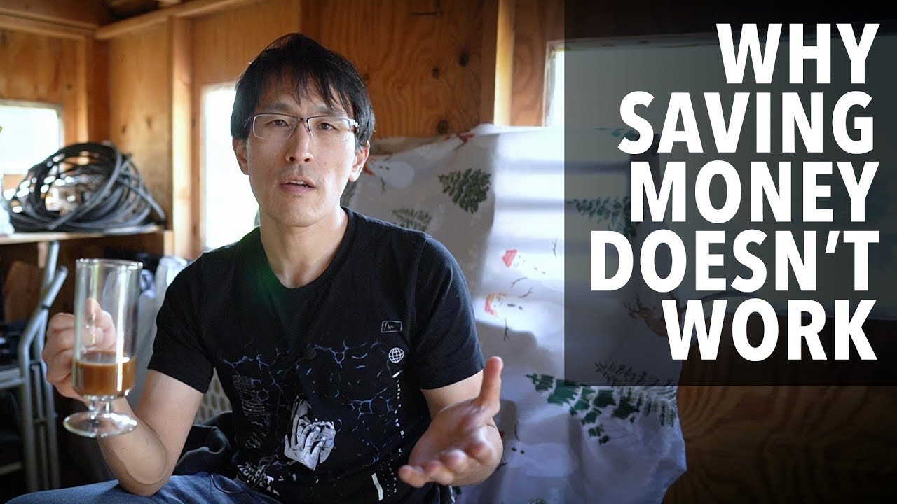 Why saving money doesn't work.  (And what does...)