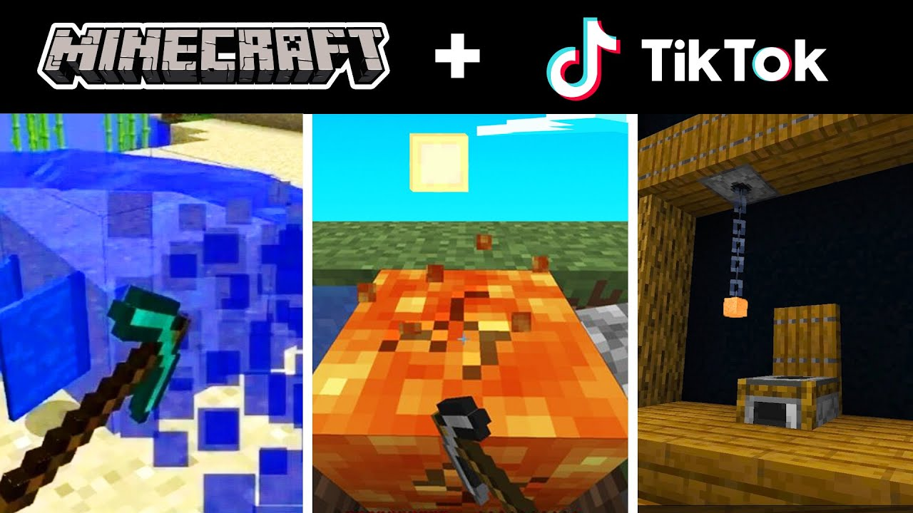Minecraft Tik Tok Compilation 25