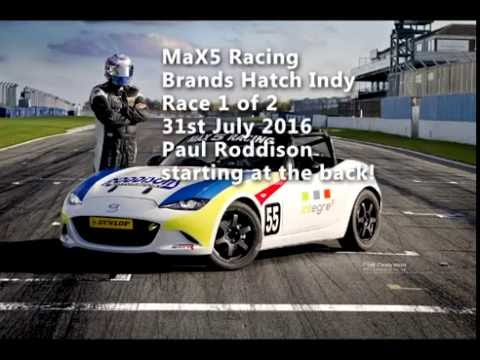 MaX5 Racing Brands Hatch 31.07.2016 MK4 Roddisons Race 1 ND MX5