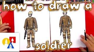 Cómo Dibujar Un Soldado