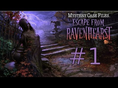 Mystery Case Files: Escape From Ravenhearst Walkthrough Part 1