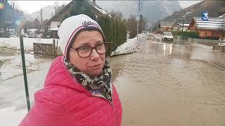 Allemont face aux inondations