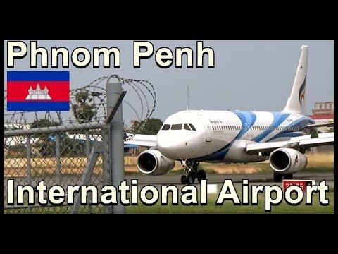 Phnom Penh International Airport, Cambodia August 2017