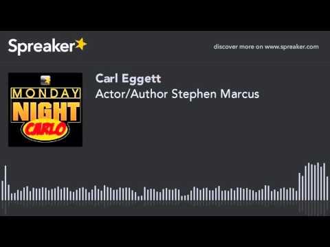 Actor/Author Stephen Marcus