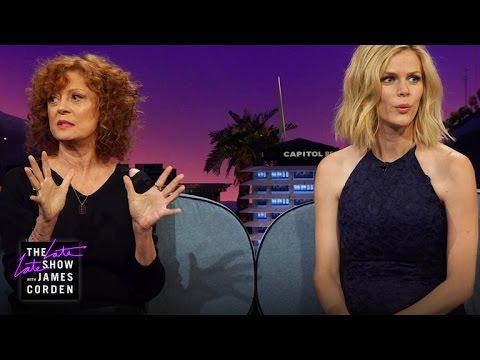 Brooklyn Decker Talks Baby Names with Susan Sarandon