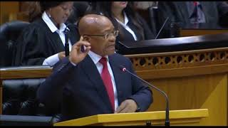 Zuma throws shade at the Opposition on Nkandla