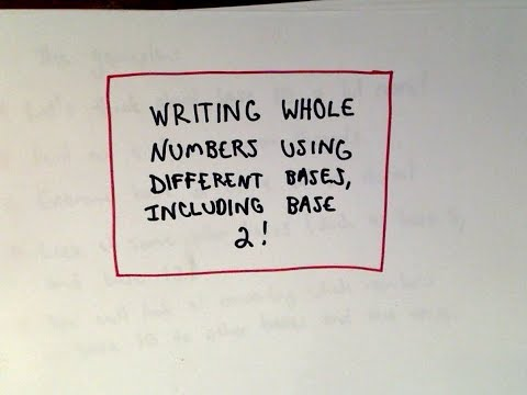 Writing a Whole Number in a Different Base (Including Base 2)