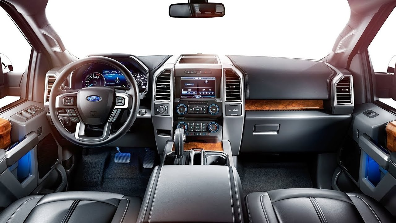 Ford 2015 Ford F 150 Interior Youtube