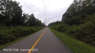 W&OD Trail - Bike Cam