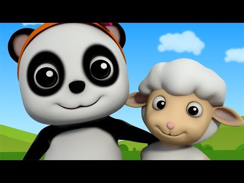 Thumbnail: Mary Had A Little Lamb | Nursery Rhymes For Children | Baby Songs | Baby Bao Panda