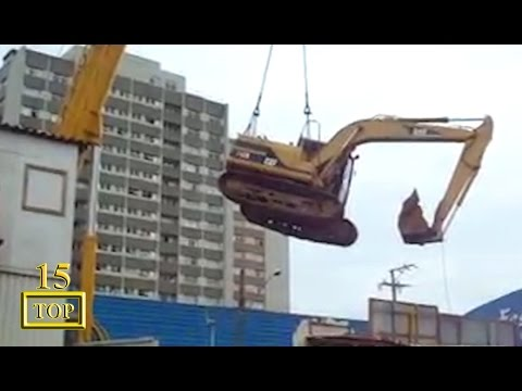 Top 15 Heavy Crane Accidents Caught On Tape Compilation 2017