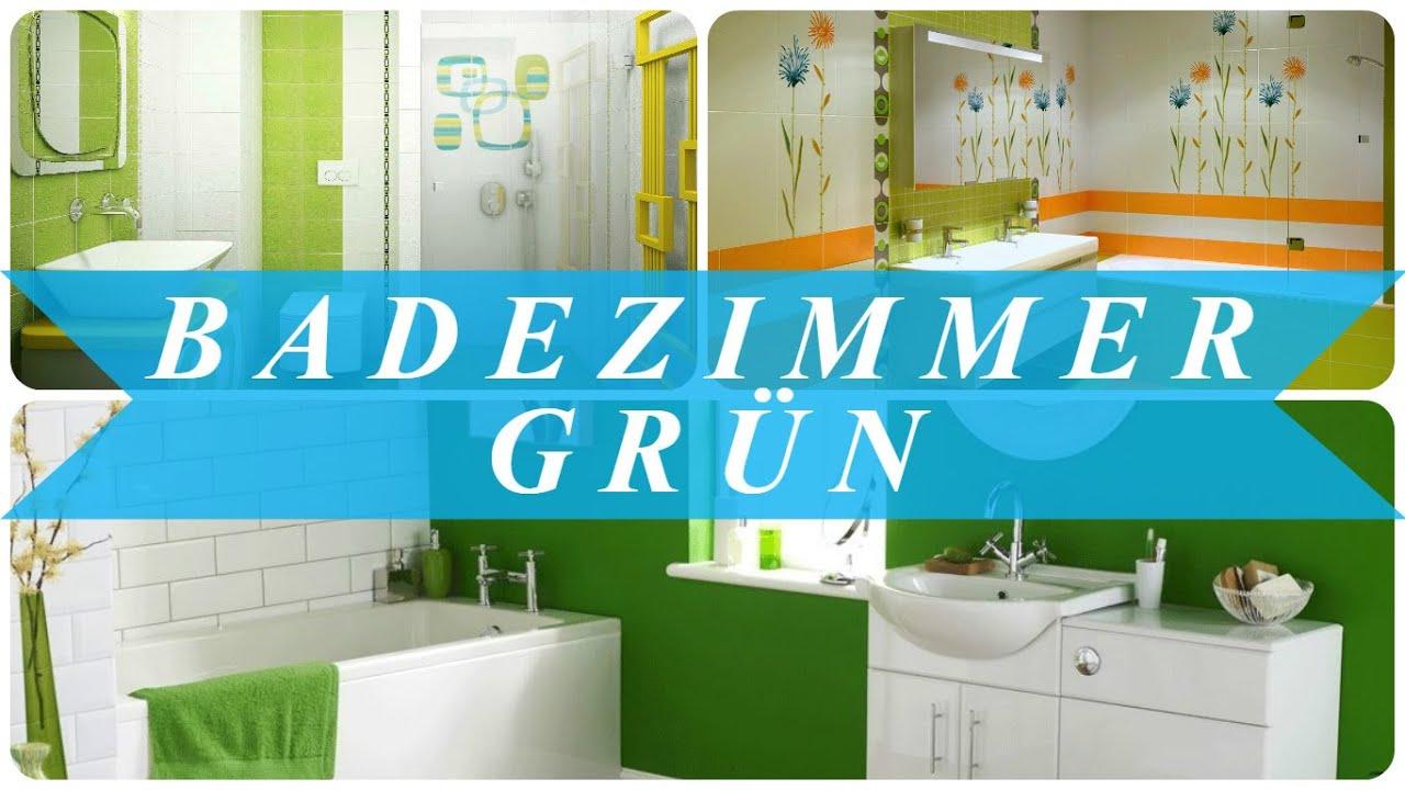 Badezimmer grün - YouTube