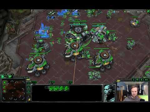 Mass Raven vs Proxy Hatch into Swarm Hosts - TvZ - Starcraft 2 LotV