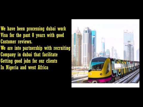 How to get Dubai work visa from Nigeria | Dubai employment visa