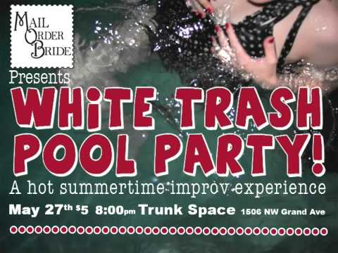 White Trash Pool Party