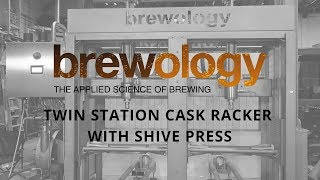 Brewology Twin Station Cask Racker for Brains Brewery
