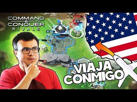 ¡¡YA ES GLOBAL COMMAND AND CONQUERS: RIVALS!! | Sorteo de un viaje