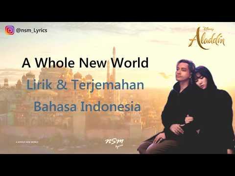 Gamaliel, Isyana Sarasvati - A Whole New World (Lyrics) From Aladdin
