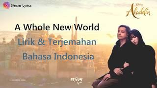 Gambar cover Gamaliel, Isyana Sarasvati - A Whole New World (Lyrics) From Aladdin