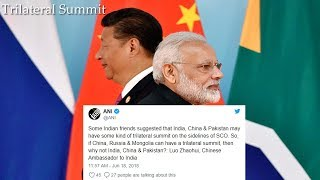 China proposes trilateral summit amid India Pakistan standoff