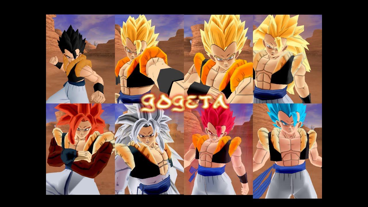 Gohan Wallpaper 3d Gogeta All Form Hq Dragon Ball Z Budokai Tenkaichi 3