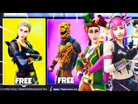 New FREE RARE SKIN! - How To Get FREE SKINS in Fortnite Battle Royale! (Fortnite Battle Royale)