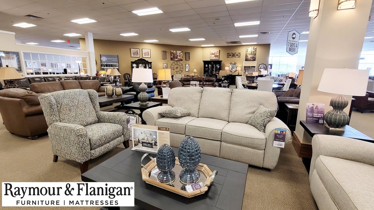 Raymour And Flanigan Furniture Decor Shop With Me 2021 Couches Sofas Recliners Youtube