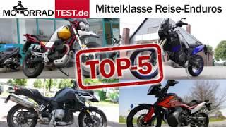 Vergleich Reise-Enduros der Mittelklasse | Adventure-Bikes bis 850 ccm (with english subtitles)