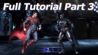 Injustice: Gods Among Us - Special Moves - Full Tutorial - Part 3 - HD