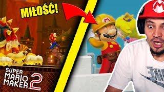 💏 WALKA Z CATBOWSEREM I POCAŁUNEK MARIO Z KSIĘŻNICZKĄ!   Super Mario Maker 2 #10