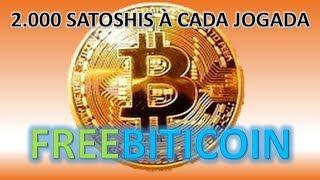 COMO GANHAR 2 Mil satoshi À CADA JOGADA no Free Bitcoin