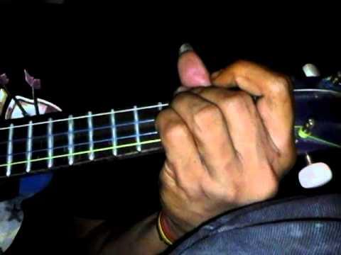 gaby tinggal kenangan cover ukulele by di'co (stabat langkat)