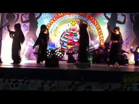 Global Musical Concert 2012 BSS ( kindergarten Hyd ) Dance