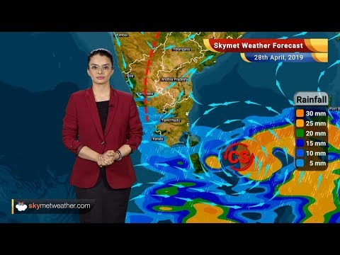 Weather Forecast April 28: Depression intensifies into Cyclone Fani, heat wave in North, Central