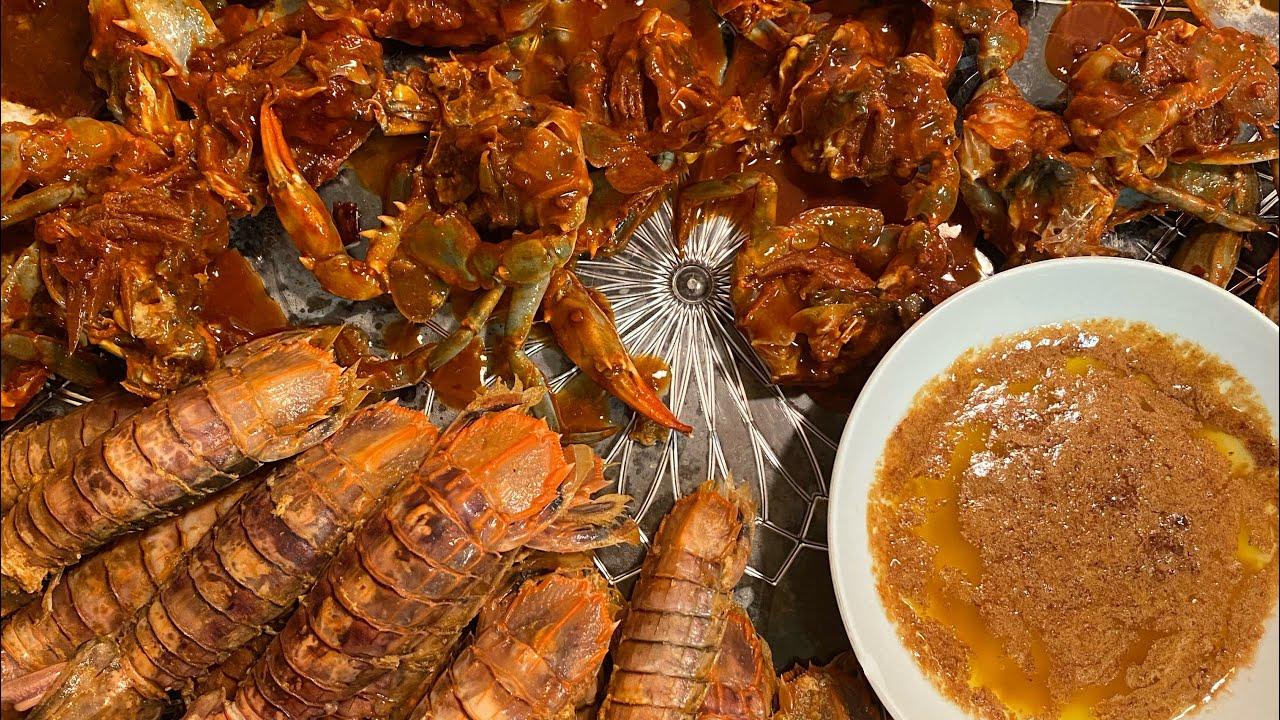 Download ASMR Marinated Spicy Crabs (Burong Alimango) and Mantis Shrimp(Alupihang Dagat) Mukbang